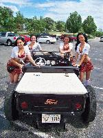 Women of the Tilted Kilt Car Show