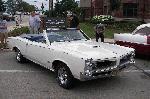 White Classic GTO Convertible