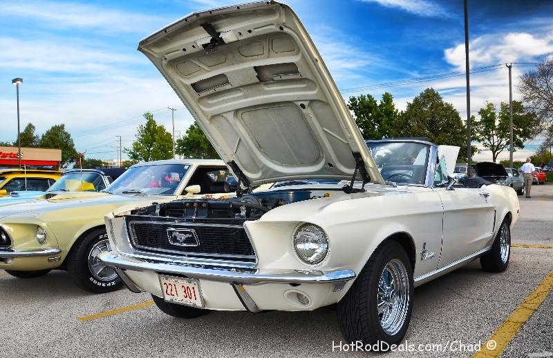 Various photos from the cruise night at Cozzi Corner located in Downers Grove, Illinois on 9/3/2013.