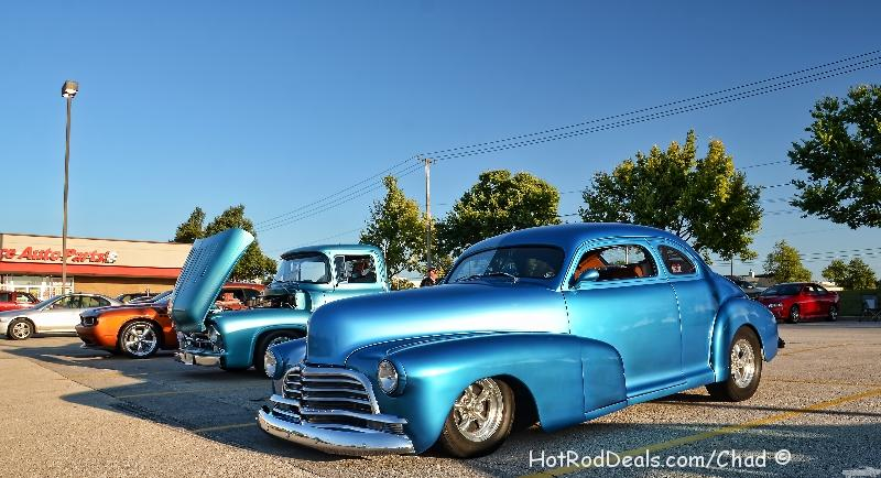 Various photos from the cruise night at Cozzi Corner located in Downers Grove, Illinois on 9/24/2013.