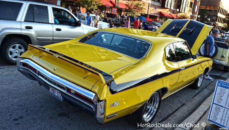 Various photos from a cruise night in Downers Grove, Illinois on 8/16/2013.