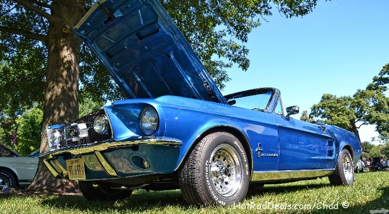 Various photos from the Northern Mustang Corral Annual Car Show held at Perry Farm Park in Bourbonnais, Illinois on 08-04-2013.