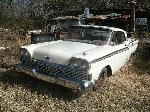 1959 Ford Fairlane 500 Retractable $8,200.00
