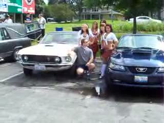 Add Comment To: The owner of the mustang with the ladies...