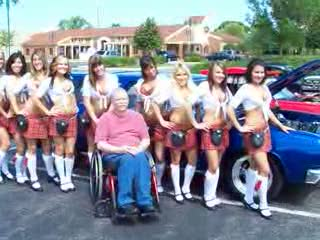 Add Comment To: Impala Stationwagon with the owner and the Tilted Kilt ladies