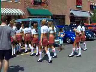 Tilted Kilt ladies onto the VW row... from:DotComd