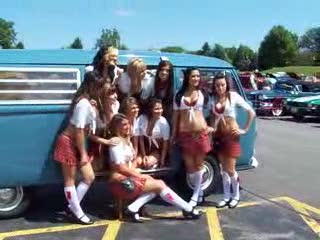 Add Comment To: How many Tilted Kilt Ladies will fit in a VW Van?