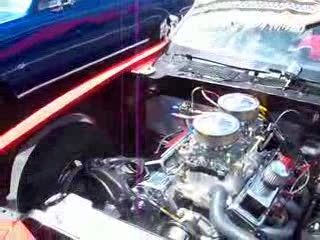 Pop Quiz with Dee on a Chevy Camaro engine from:DotComd