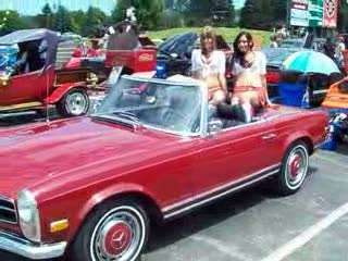 Dee and Mandi looking hot in a Mercedes from:DotComd