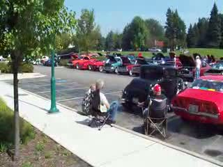 A quick look out at the 3rd Tilted Kilt Car Show from:DotComd