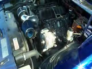 1978 Pontiac Firebird Trans Am w/ LS3 480hp and 6 Sp Trans Revving it up  from:BadBluTA