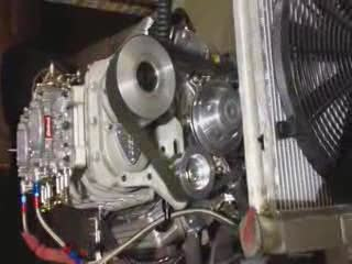 Blower Motor running on a Crate from:Ozz